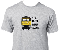 Still Plays With Trains - Class 47 Printed T-Shirt