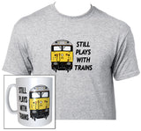 Still Plays with Trains - Class 50 - Mug & T Shirt set