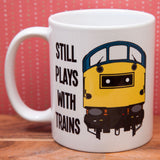 Still Plays with Trains - Class 40 - Mug & T Shirt set