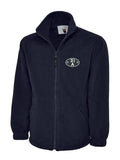 British Railways Shed Plate / Depot Code Fleece Jacket (ALL sheds available)