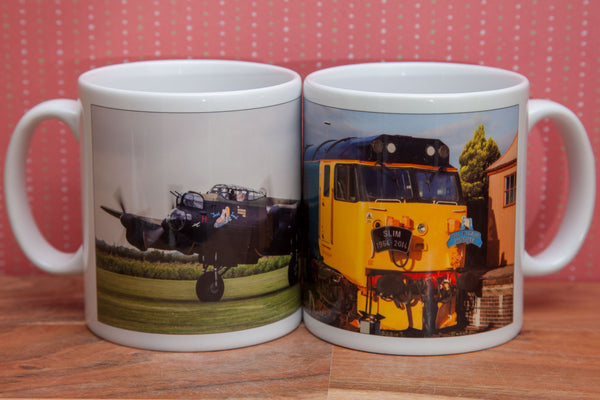 Your photo wrapped on a mug - Personalised item