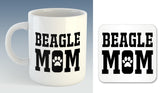 Beagle Mom Mug (Also Available with Coaster)