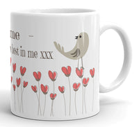 You bring out the best in me - Ceramic Mug (Personalised)