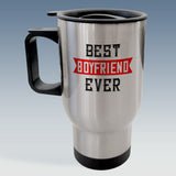 Travel Mug - Best Boyfriend Ever - Available in White or Silver