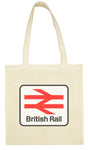Cotton Shopping Tote Bag - British Rail