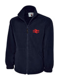 British Rail BR Double Arrows (RED) fleece