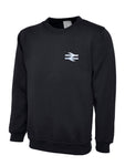British Rail BR Double Arrows Sweat Shirt