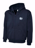 British Rail BR Double Arrows Hoodie
