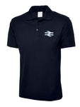 British Railway BR Double Arrows Polo Shirt