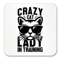 Crazy Cat Lady in Training Mug (Also Available with Coaster)