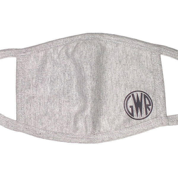 GWR Grey Distancing Face Mask - One Size