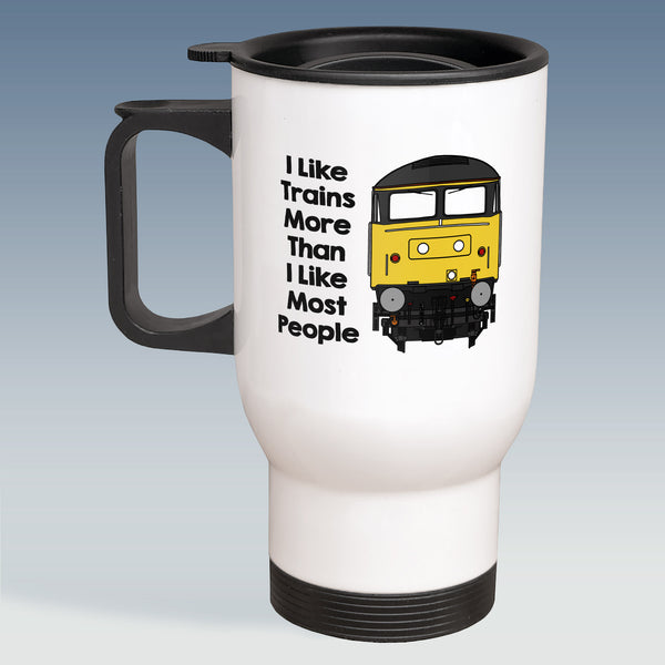 Travel Mug - I Like Trains more than Most People - Class 47