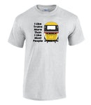 I Like Trains More Than I Like Most People - HST (Intercity) Printed T-Shirt