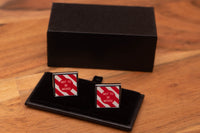 BR Not To Be Moved Board Cufflinks with gift box