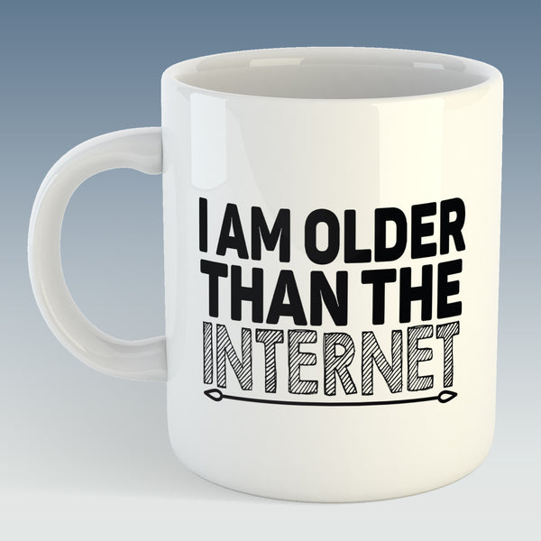 I Am Older Than The Internet Mug (Also Available with Coaster)