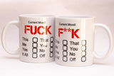 Current Mood Mug - (Funny but offensive!). Can be Personalised.