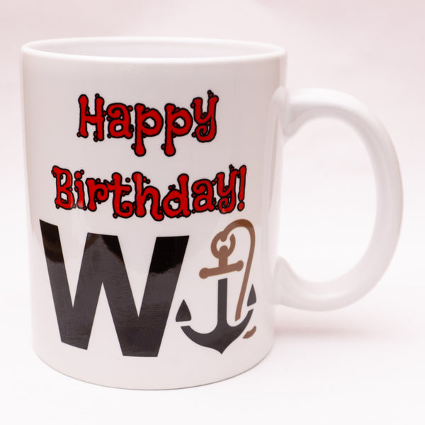 Happy Birthday Wanker! Mug/Coaster