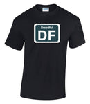 Railway Humour Shed Depot Sticker 'Dreadful' Printed T-Shirt