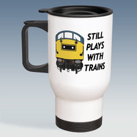 Travel Mug - Still Plays With Trains - Class 40