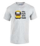 Still Plays With Trains - HST (Intercity) Printed T-Shirt