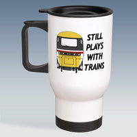 Travel Mug - Still Plays With Trains - HST Intercity