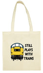 Cotton Shopping Tote Bag - Still Plays With Trains Class 40