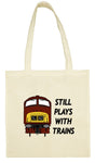 Cotton Shopping Tote Bag - Still Plays With Trains Class 42