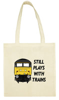 Cotton Shopping Tote Bag - Still Plays With Trains Class 47