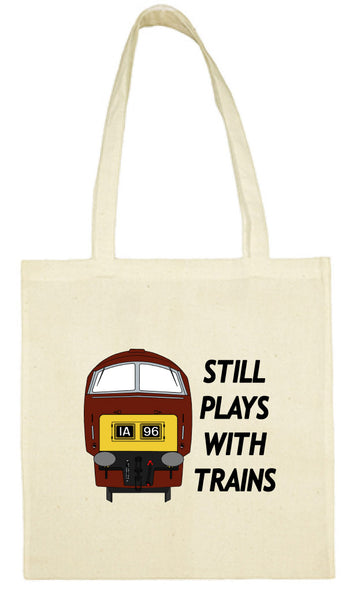 Cotton Shopping Tote Bag - Still Plays With Trains Class 52