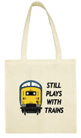 Cotton Shopping Tote Bag - Still Plays With Trains Class 55