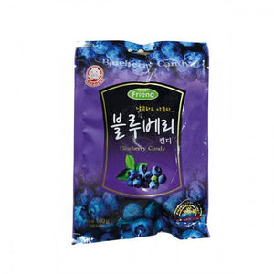 Bala Coreana de Mirtilo (Blueberry) - Mammos - 100g