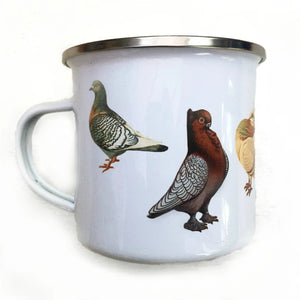 Enamel pigeon mug - PRE ORDER available from 19 Oct