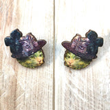 Cat lapel pins