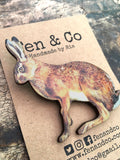 Running hare jewellery