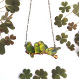 Parakeet necklace