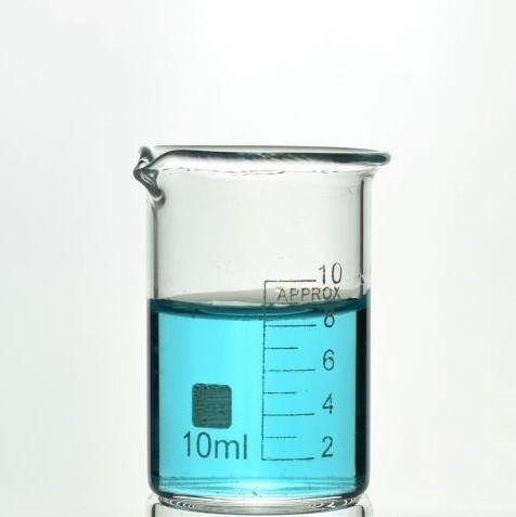 TN LAB Supply Beaker 10ml Borosilicate 3.3 Glass Beaker