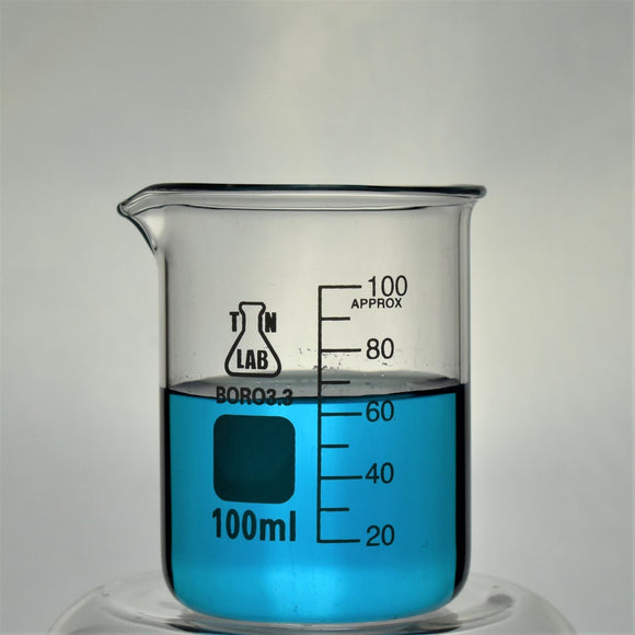 Beaker Borosilicate Glass with Graduations 100ml
