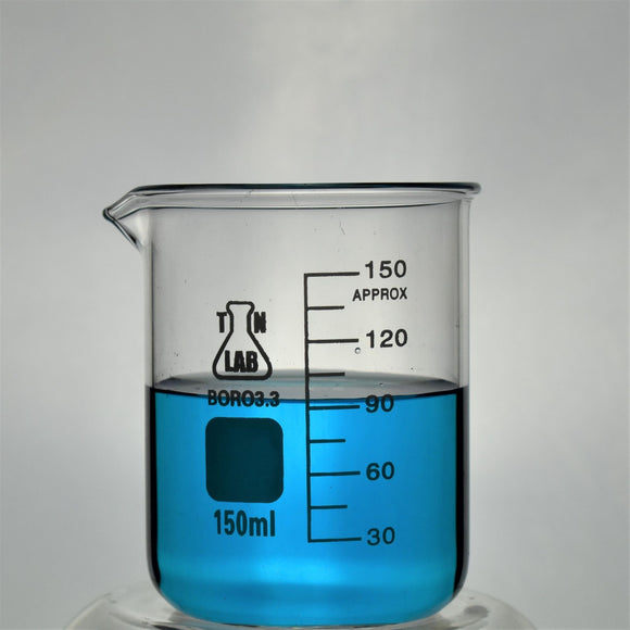 Beaker Borosilicate Glass with Graduations 150ml