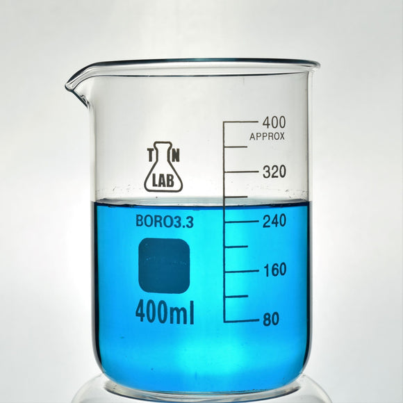 Beaker Borosilicate Glass with Graduations 400 ml
