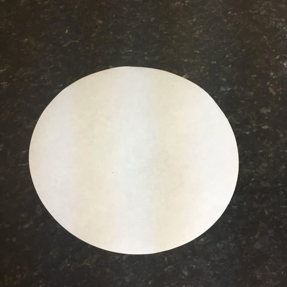 Fine 125mm Filter Paper Fits 150 mm Buchner Funnel (11 to 15 micron)