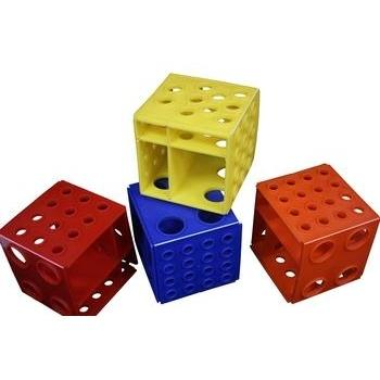 Plastic Multi-Size Test Tube Cube Rack-Hardware-TN Lab Supply