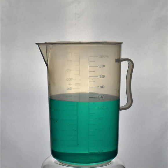 TN LAB Supply Measuring Cup Polypropylene 2000ml 2L