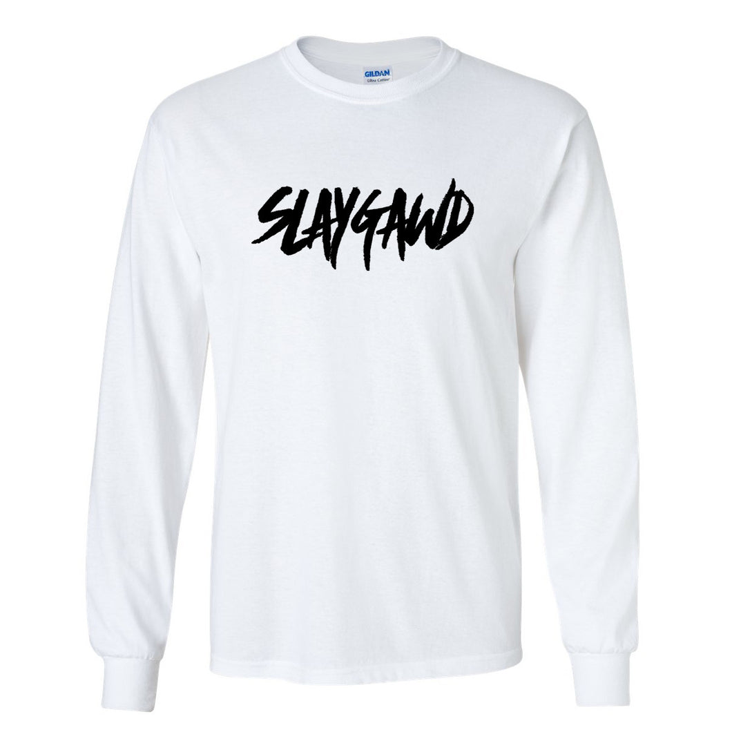 SLAYGAWD TEE - WHITE