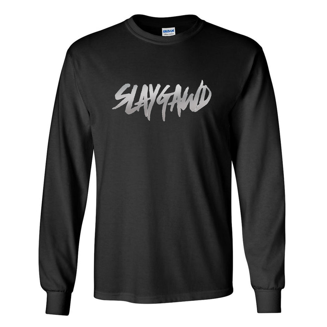 SLAYGAWD TEE - BLACK
