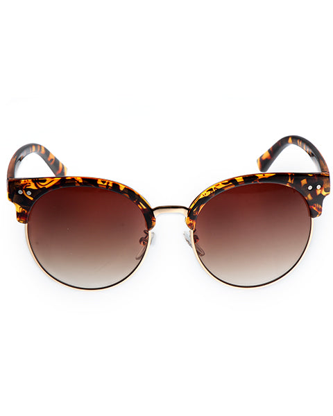 Skone Palms Cat Eye Sunglasses - Tortoise Shell