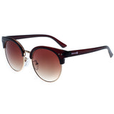 Skone Palms Cat Eye Sunglasses - Solid Brown