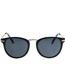 Skone Queens Round Sunglasses - Smokey Black