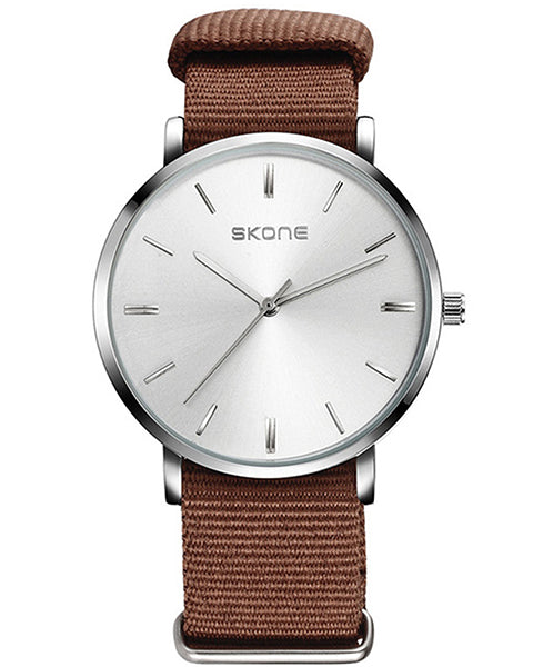 Skone Prescott Mens Watch - Brown NATO Strap