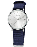 Skone Prescott Ladies Watch - Blue NATO Strap
