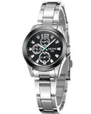 Skone Shefford Ladies Watch Black - Stainless Steel Strap